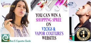 V2Cigs Vapor Couture eGift Contest on Best-E-Cigarette-Guide post