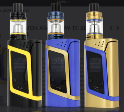 SMOK Alien advanced MOD -best-ecigarette-guide.com