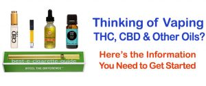 THC CBD oils information